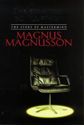 9780316641326: I've started so I'll finish: the story of 'Mastermind'
