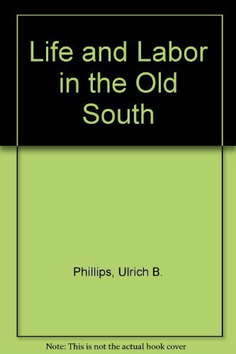 9780316706056: Life and Labor in the Old South