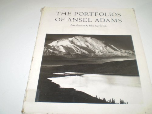 9780316713955: Portfolios of Ansel Adams