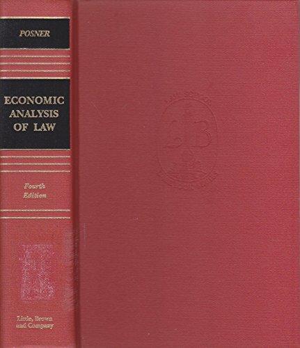 9780316714440: Econ Analysis Law 4Th E