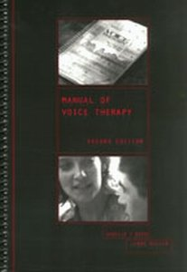 9780316717298: Manual of Voice Therapy (Spiral Manual Series)