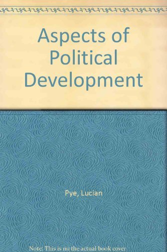 9780316724104: Aspects of Political Development: An Analytic Study
