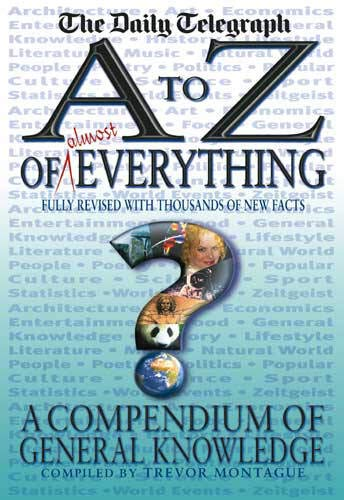 9780316725576: An A-Z of Everything : A Compendium of General Knowledge