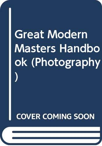 9780316726962: Great Modern Masters Handbook