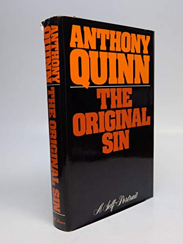 9780316728980: The Original Sin : A Self-Portrait