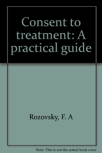 1988 Supplement Consent to Treatment: Rozovsky, Fay A.