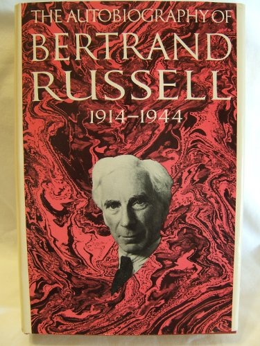 9780316762854: The Autobiography of Bertrand Russell: 1914-1944 [Volume II]