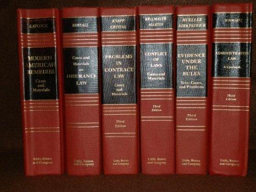 9780316775748: Admin Law Casebook (Law school casebook series)