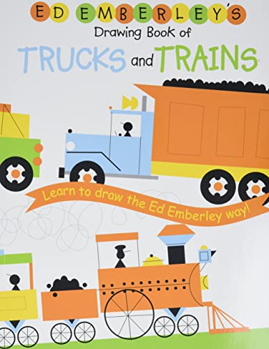 9780316789677: Ed Emberley Drawing Book Trucks and Trains /Anglais