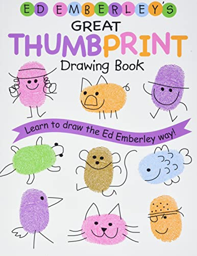 9780316789684: Ed Emberley Drawing Book  Great Thumbprint /Anglais