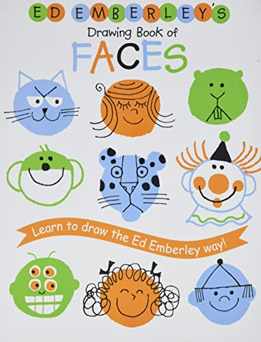 9780316789707: Ed Emberley's Drawing Book Of Faces (Ed Emberley Drawing Books)