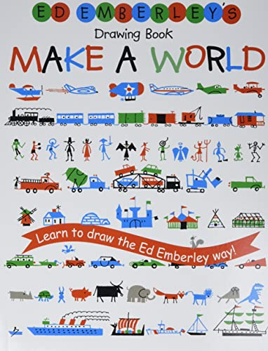 9780316789721: Ed Emberley's Drawing Book: Make A World