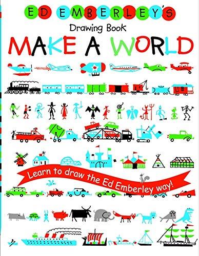 9780316789721: Ed Emberley's Drawing Book: Make a World