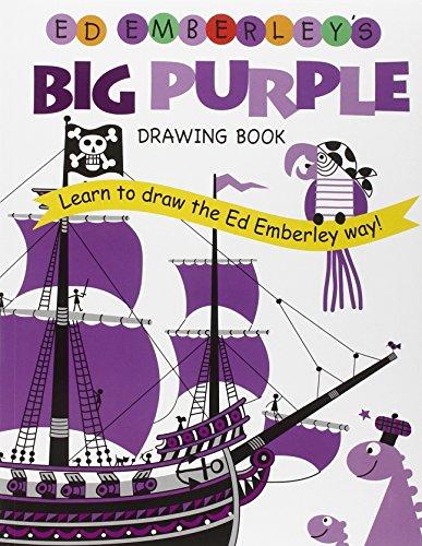 9780316789738: Ed Emberley's Big Purple Drawing Book (Ed Emberley's Big Series)