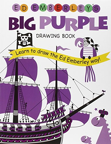 9780316789738: Ed Emberley's Big Purple Drawing Book (Ed Emberley's Big Series)