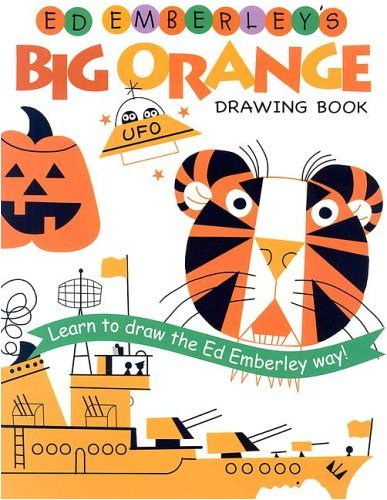 9780316789752: Ed Emberley's Big Orange Drawing Book