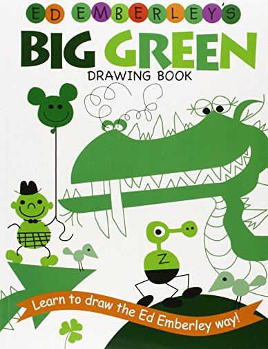9780316789769: Ed Emberley's Big Green Drawing Book (Ed Emberley's Big Series)