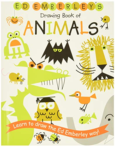 9780316789790: Ed Emberley's Drawing Book Of Animals