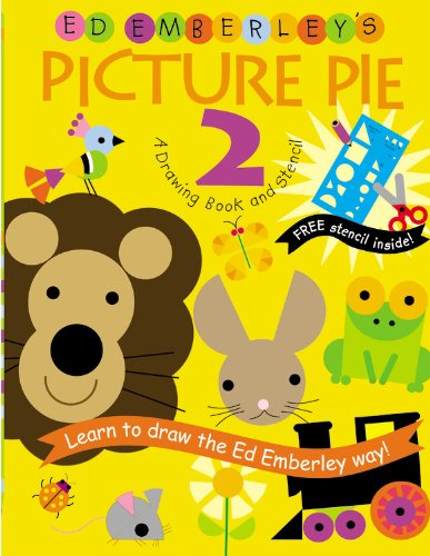9780316789806: Ed Emberley's Picture Pie 2: A Drawing Book and Stencil