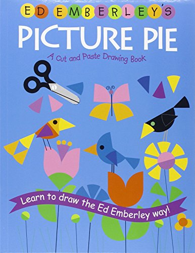 9780316789820: Ed Emberley's Picture Pie: A Cut And Paste Drawing Book