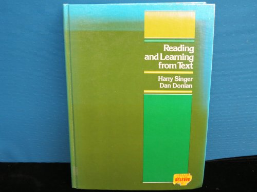 9780316792745: Reading and Learning from Text