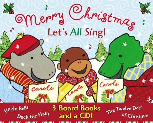 9780316794909: Merry Christmas: Let's All Sing! - Box Set: Jingle Bells; Deck the Halls; The Twelve Days of Christmas; Plus CD