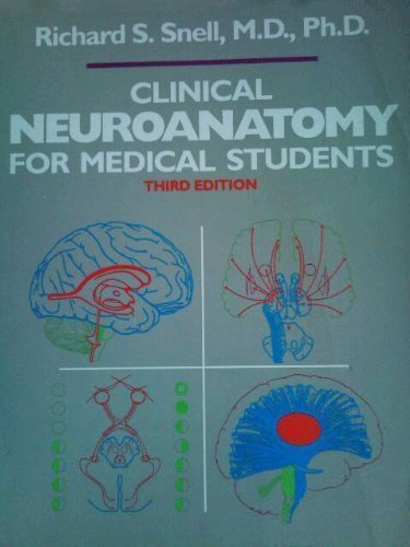 9780316802444: Clinical Neuroanatomy for Medical Students