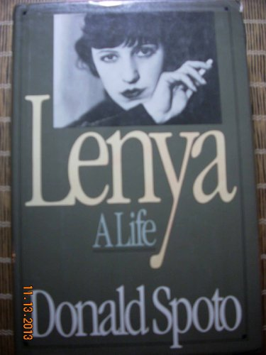 Lenya, a Life. SIGNED by author: Spoto, Donald