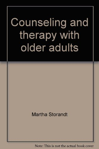 Something is. Counseling older adults