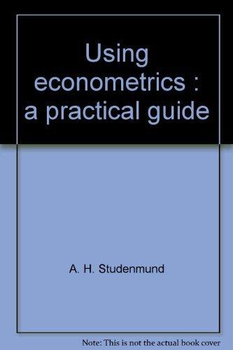 9780316820103: Using econometrics: A practical guide