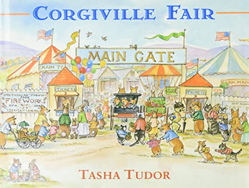Corgiville Fair (9780316853125) by Tasha Tudor