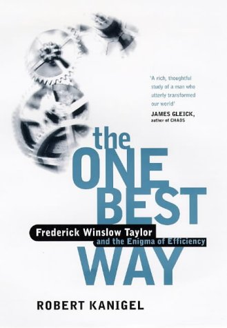 9780316882941: One Best Way Frederick Winslow Taylor