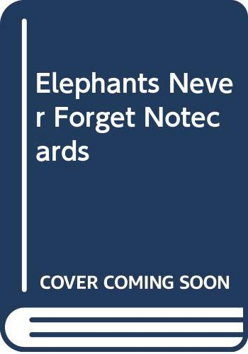 9780316888554: Elephants Never Forget Notecards