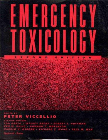 9780316902373: Emergency Toxicology