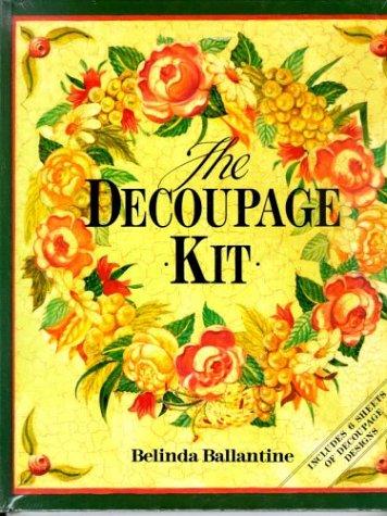 9780316905985: Decoupage Kit