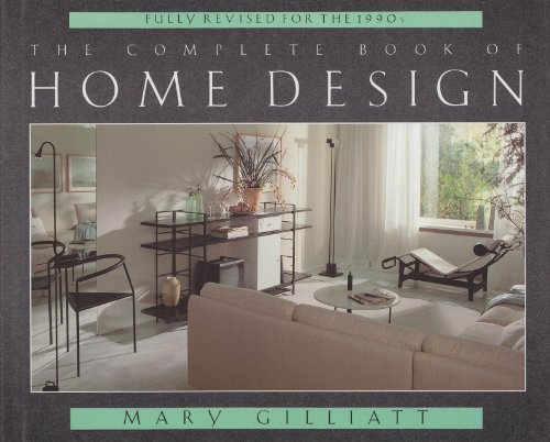 9780316906210: The Complete Book of Home Design [Revised Editon]