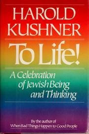 9780316906876: To Life!: A Celebration of Jewish Being and Thinking