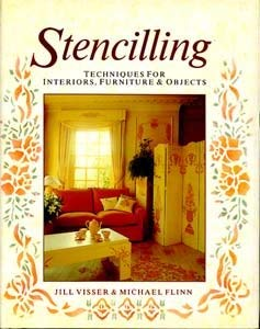 STENCILLING: Jill & Flinn,