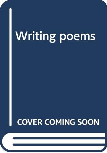 Writing poems (0316919969) by Wallace, Robert