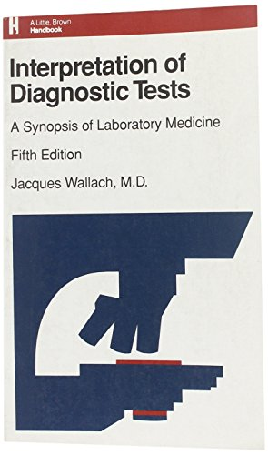 9780316920506: Interpretation of Diagnostic Tests: A Synopsis of Laboratory Medicine