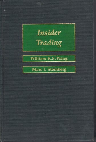 Insider Trading.: Wang, William K. S.