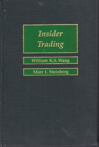 9780316921084: Insider Trading