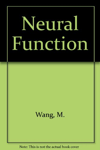 9780316921480: Neural Function
