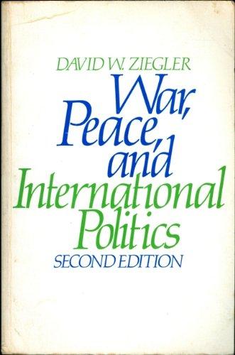 9780316984935: War, peace, and international politics