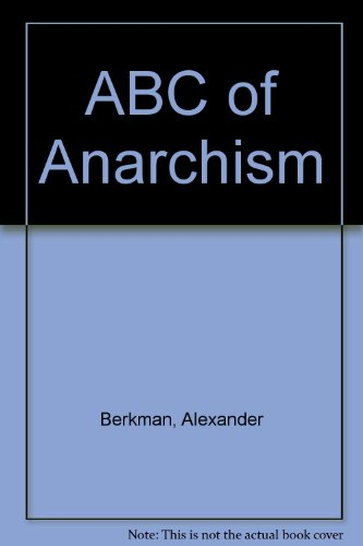 9780317006346: ABC of Anarchism