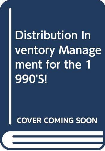 9780317015485: Distribution Inventory Management