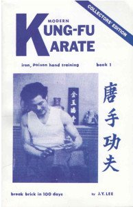 9780317028393: Modern Kung-Fu Karate: Iron Poison Hand Training, Book 1 (Break Brick in 100 Days)