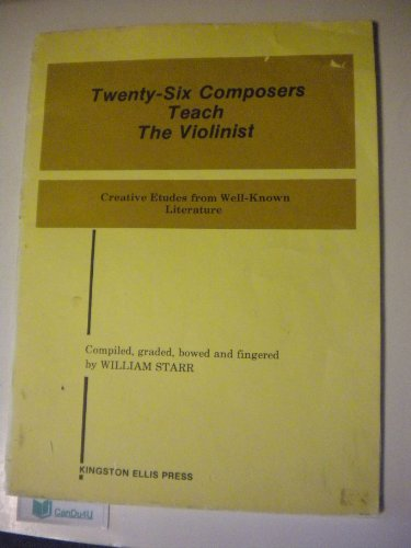9780317065046: Twenty Six Composers Teach the Violinist