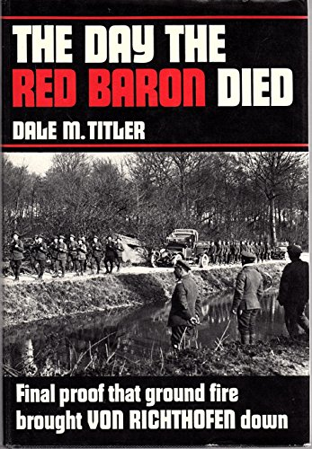 9780317177176: Day the Red Baron Died