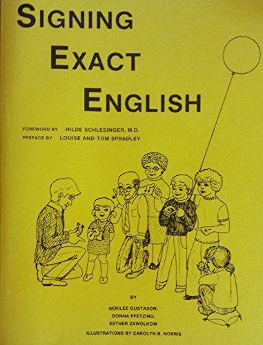 9780317349894: Signing Exact English